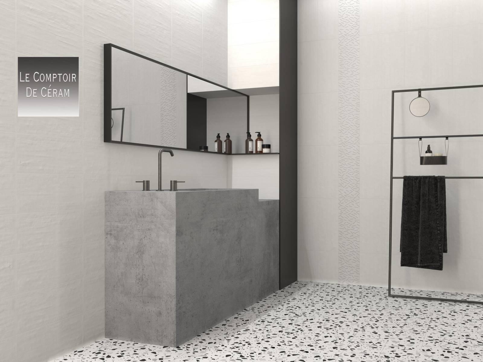 carrelage effet terrazzo mur et sol 20 x 20 cm avec ou sans motifs