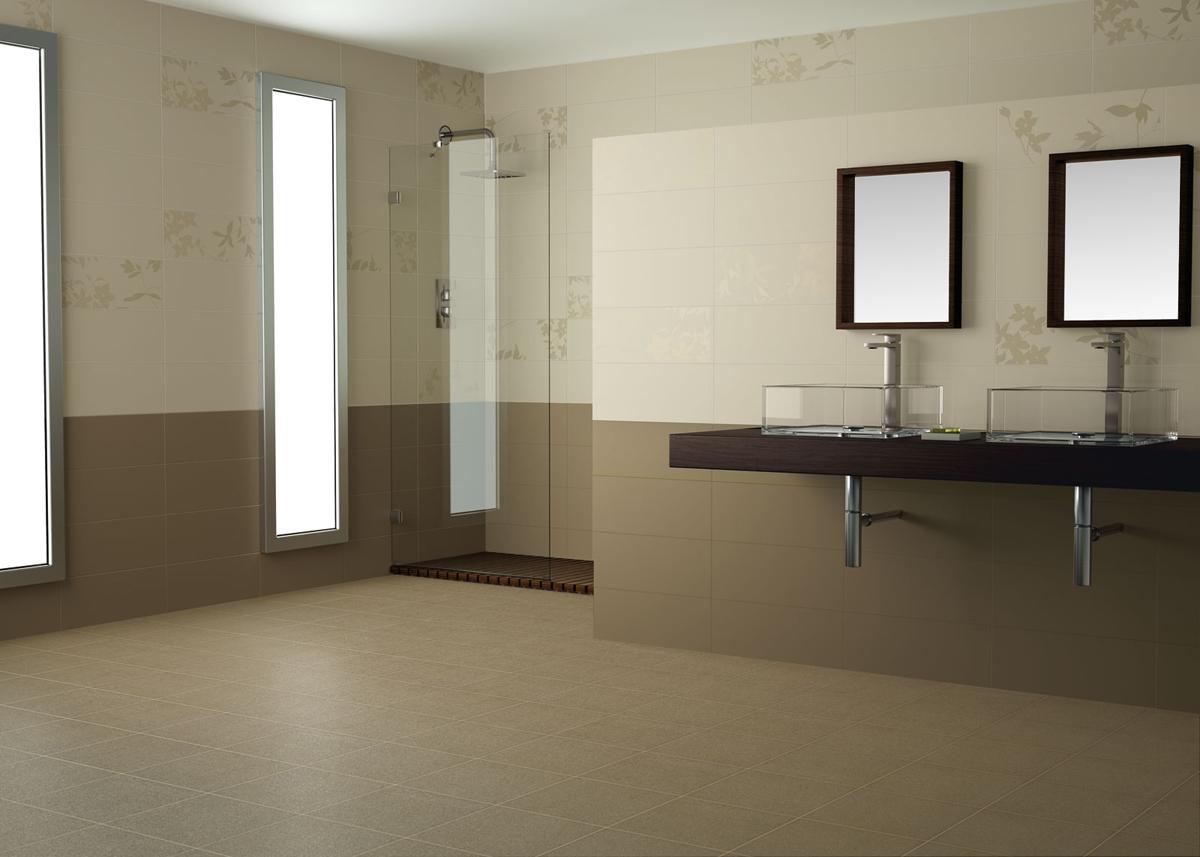 Salle De Bain Saumon faÏences fleuries effet papier peint salle de bain jacou