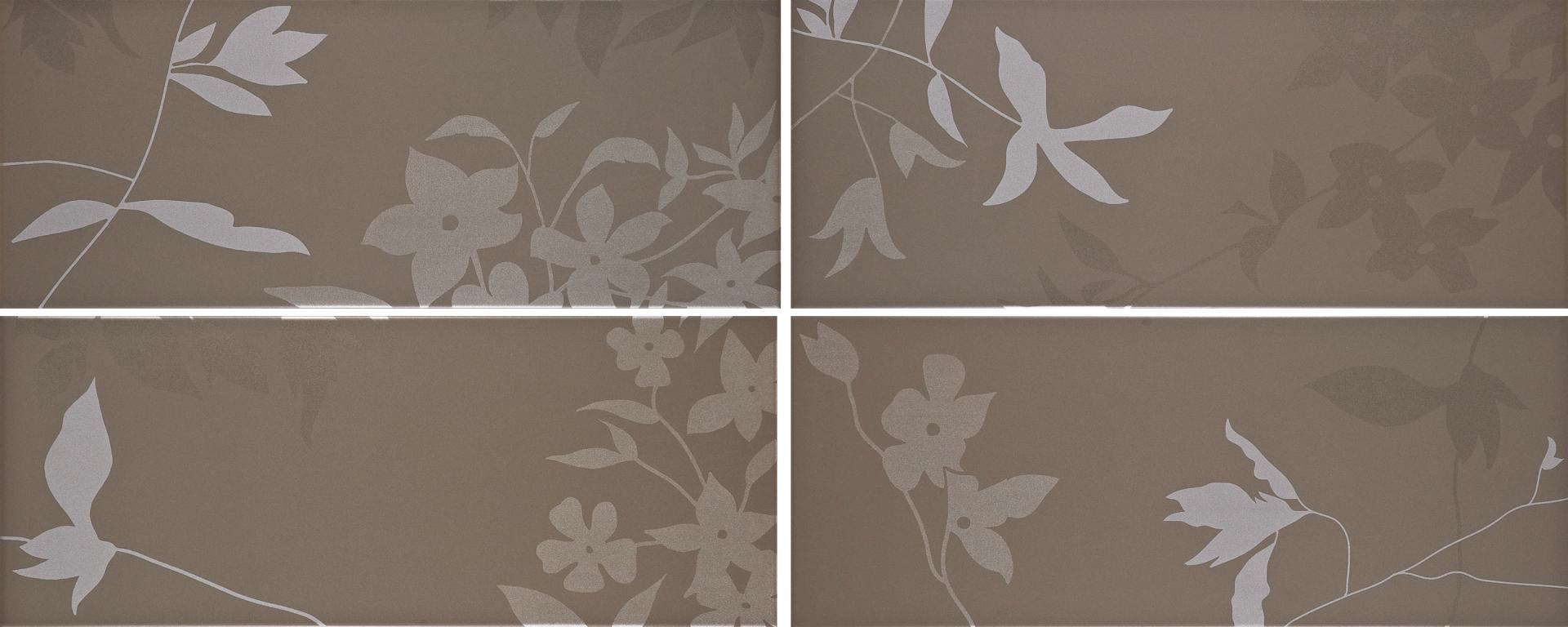 Salle De Bain Fleurie ~ fa ences fleuries salle de bain jacou y13 carrelage design le