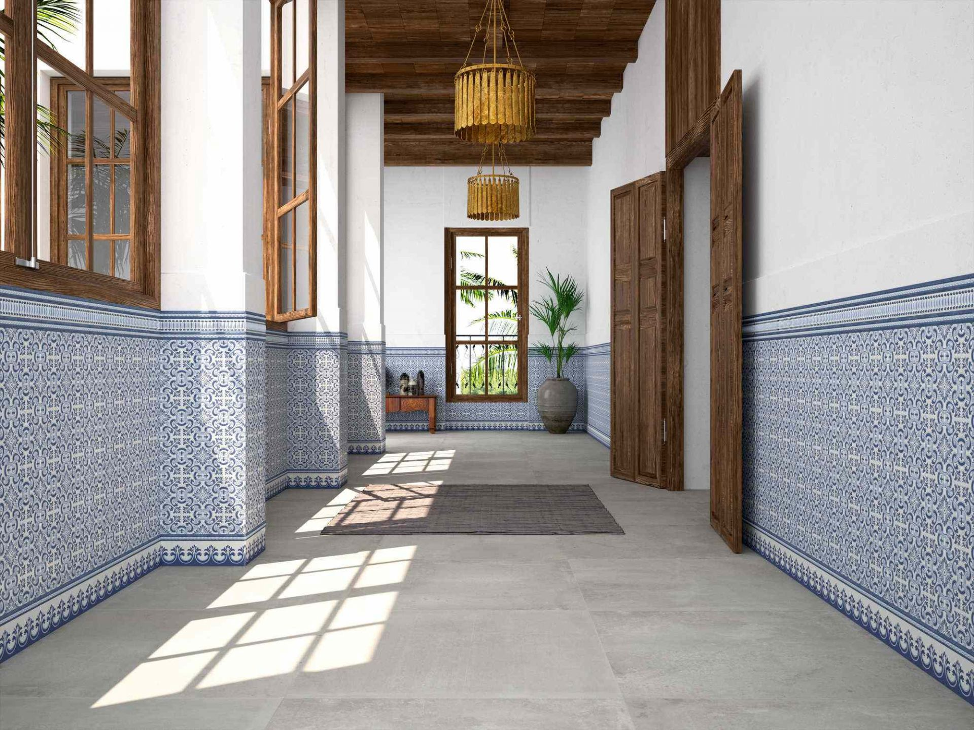 Carrelage d cor ciment style azulejos y8 carrelage for Carrelage a clipser 29 euros