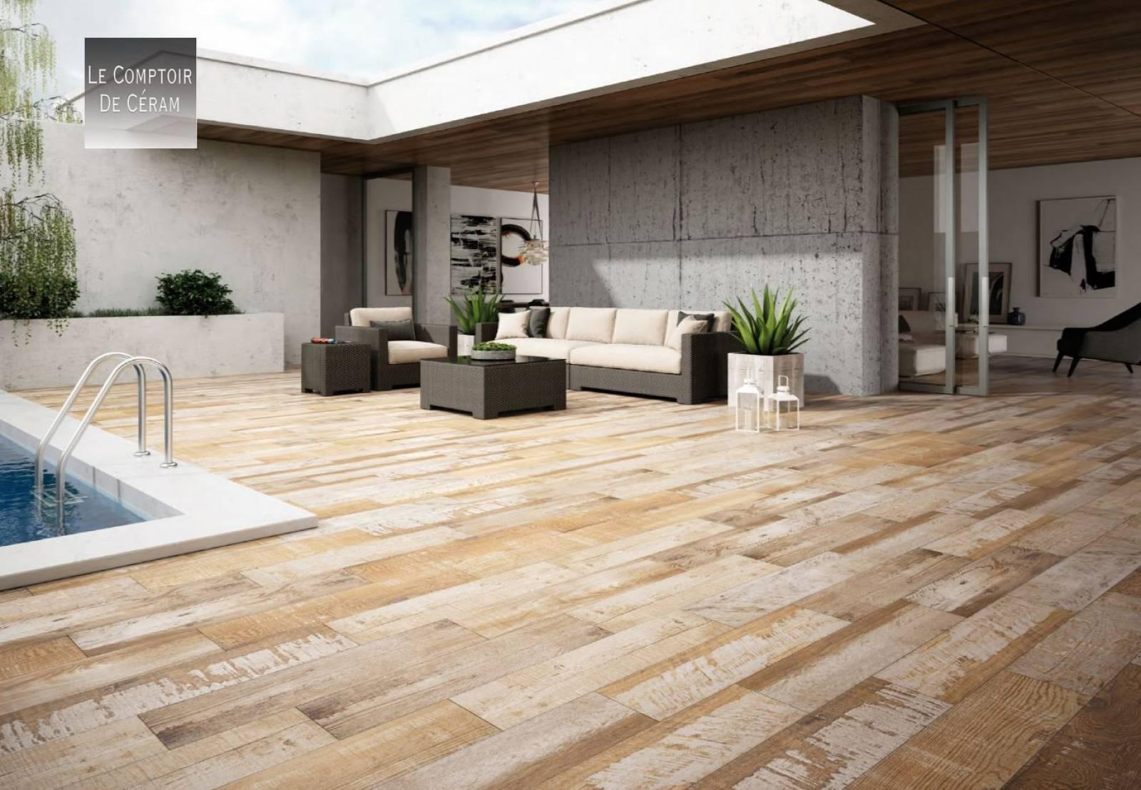 Vente Bois Pour Terrasse carrelage terrasse bois style industriel design jacou ex28