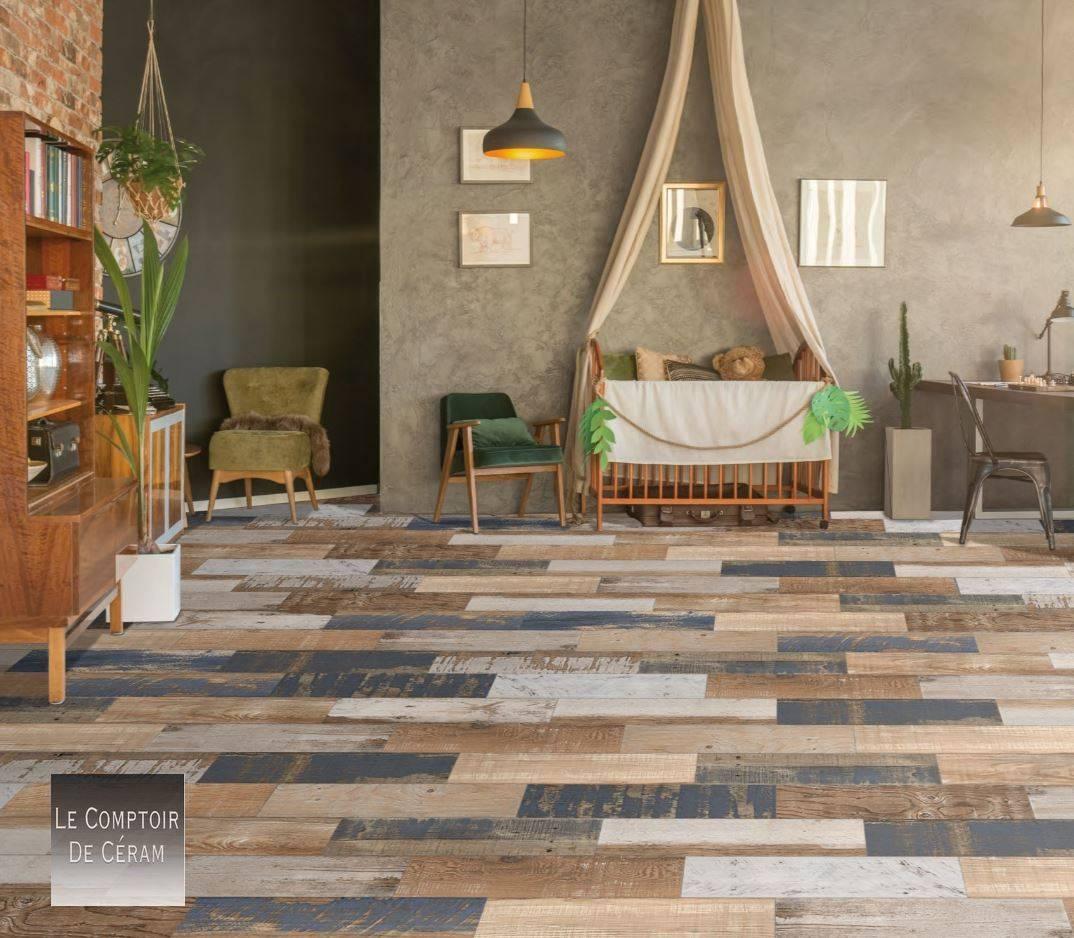 Carrelage Terrasse Bois Style Industriel Design Jacou Ex28