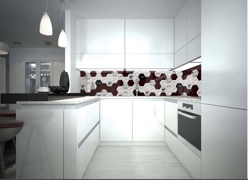Faiences 3d Noir Et Blanc Cuisine Et Salle De Bains
