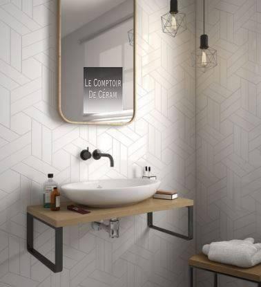 Carrelage Mural Chevrons 18 6 X 5 Cm Couleurs Jacou Mb10 Vente De
