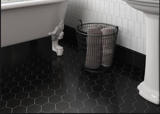Carrelage Hexagonal Sol Et Mur Petit Format Mat 224 Jacou