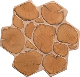 Carrelage ext rieur aspect rondin de bois montpellier 34 for Carrelage aspect bois exterieur