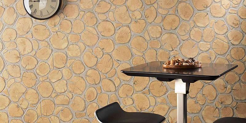 Carrelage ext rieur aspect rondin de bois montpellier 34 for Carrelage exterieur aspect bois