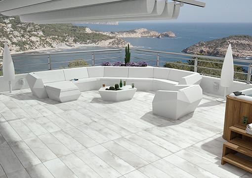 carrelage ext rieur 20 mm d paisseur effet pierre ou. Black Bedroom Furniture Sets. Home Design Ideas