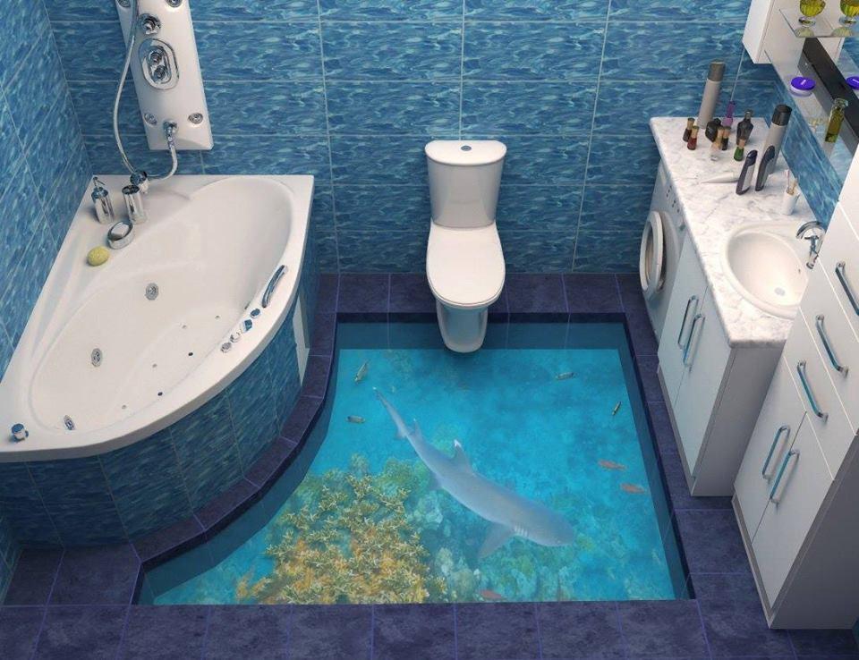 rev tement sol 3d epoxy montpellier y7 carrelage design le comptoir de c ram. Black Bedroom Furniture Sets. Home Design Ideas