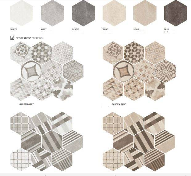 Carrelage Hexagonal Ciment Vieilli Montpellier Cuisine Et