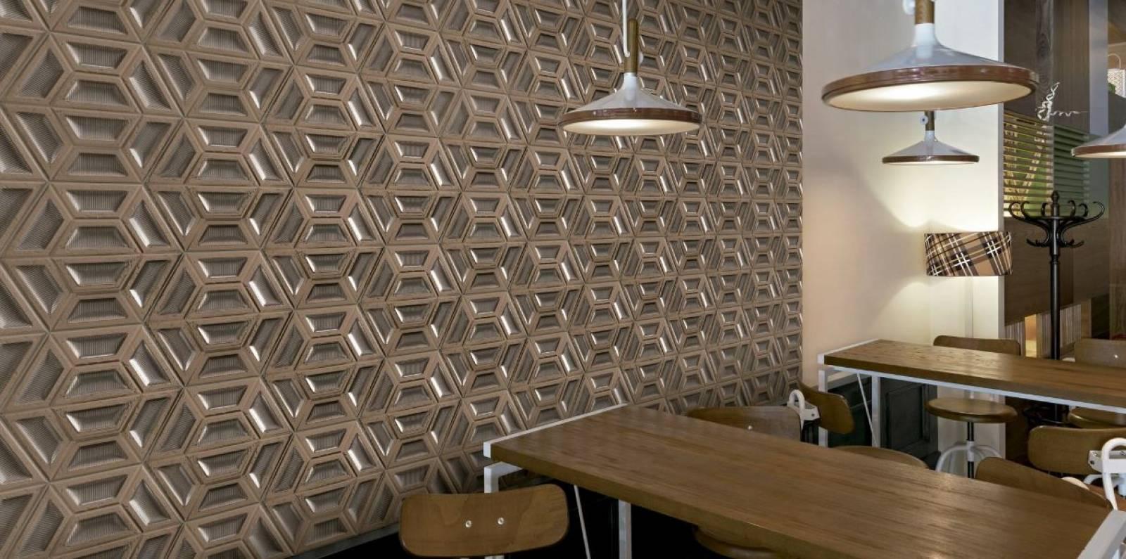 Plaque Sur Carrelage Cuisine carrelage mural hexagonal 3d effet ciment ou metallise jacou