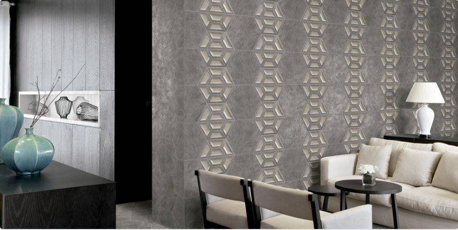 carrelage mural hexagonal 3d effet ciment ou metallise jacou a21 vente de carrelage haut de. Black Bedroom Furniture Sets. Home Design Ideas