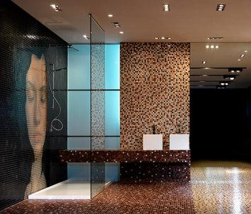 Mosaique piscine et salle de bain carrelage design le for Piscine design mosaique