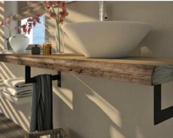 Ensemble meuble de salle de bain original fabrication for Fabrication meuble salle de bain