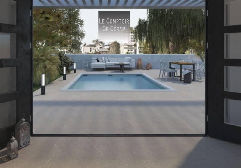 carrelage ext rieur et int rieur effet pierre monochrome. Black Bedroom Furniture Sets. Home Design Ideas